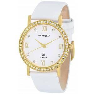 Orphelia OR22172211 - Montre Femme - Quartz Analogique - Bracelet cuir Blanc