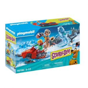 Playmobil 70706 Scooby Doo avec abominable spectre des neiges