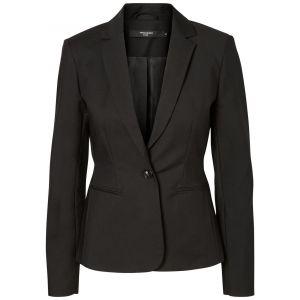 Vero Moda Vmvictoria Ls Blazer Noos Veston Femme, Noir (Black) 36 (Taille Fabricant: Small)