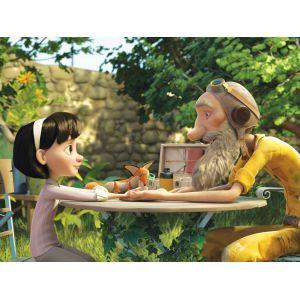 Hape 2 puzzles Le Petit Prince liens d'amitié (12 pièces)