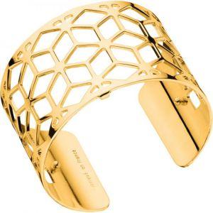 Les Georgettes Bracelet Résille Or Large