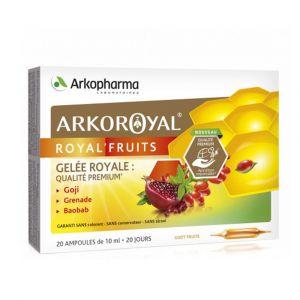 Arkopharma ArkoRoyal Dynergie - 20 ampoules