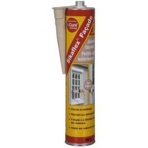 Sika Mastic-colle souple pour joints de façade - Ton Pierre - 380 g