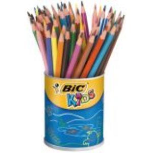 Bic 705842 - Pot de 60 crayons de couleur Evolution assortis