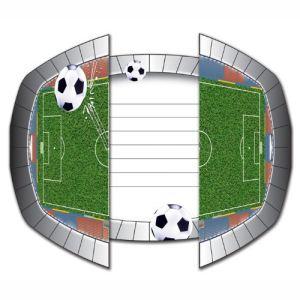 8 cartons d'invitation Stade de Foot