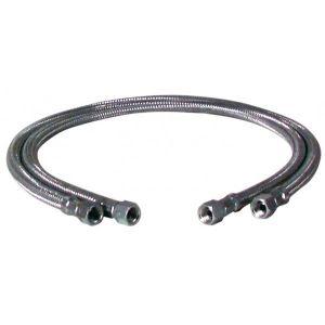 Bosch Flexible fioul - F3/8 x F3/8 droit longueur 1200mm (2 pièces) - THERMOTECH : 5883583