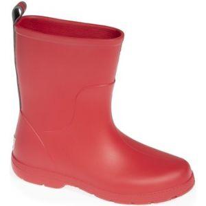 Isotoner Bottes enfant Bottes de pluie mi-hautes ado rouge - Taille 35 / 36,31 / 32,33 / 34