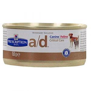 Hill's Prescription Diet Canine Feline A/D Boîte 156 gr x 24