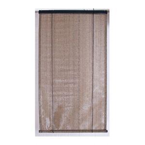 Pegane Voile d'ombrage anti-UV pour pergola verticale à enrouleur - Brun havane