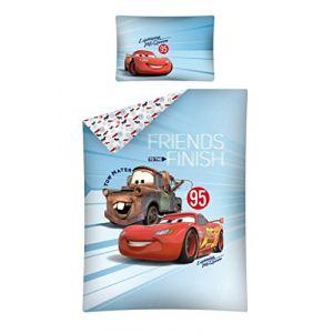 Parure de lit Cars Flash & Martin 100 x 135 cm