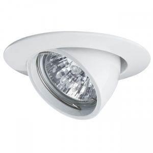 Paulmann Ampoule spot halogène Led Paullman encastrable réglable GU5.3 blanc