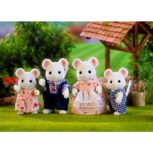 Epoch Sylvanian Families 3111 - Famille souris blanche