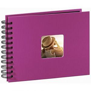 Hama Fine Art Spiral pink 24x17 50 black Pages 113674