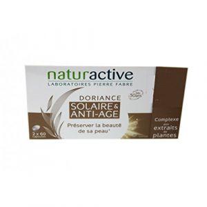 Naturactive Doriance solaire & anti-âge - 2 x 60 capsules avec trousse offerte