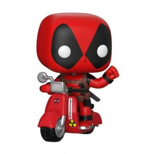 Funko Figurine Pop! Deadpool et Scooter (Marvel) - Vinyl Ride