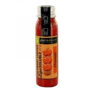 Patisdécor Colorant alimentaire liposoluble - orange - 40 g
