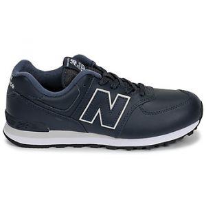 New Balance Baskets basses enfant 574 bleu - Taille 36,37,38,39,40