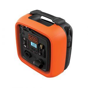 Black & Decker ASI400-XJ Gonfleur compresseur 11 bars/160 PSI Orange