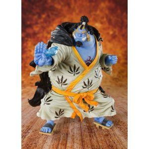 Cosmic Group One Piece Statuette Pvc Figuartszero Knight Of The Sea Jinbe 19 Cm