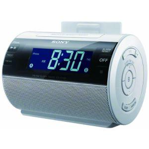 Sony ICF-C11iP - Radio réveil avec station d'accueil