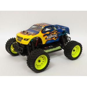 RayLine Monster Truck Kidking - Voiture radiocommandée 1:16
