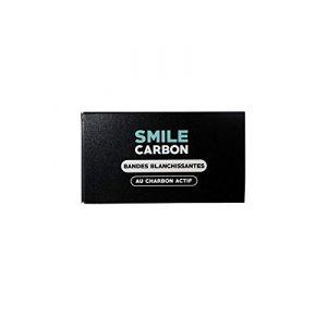 Smile Charbon Bandes blanchissantes au charbon actif