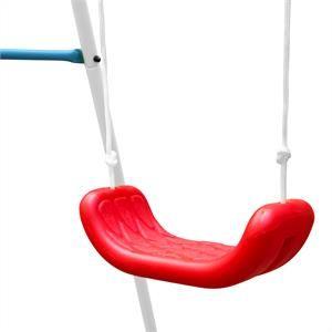 OneConcept Miri - Balançoire enfant de jardin avec armature, cordes et assise
