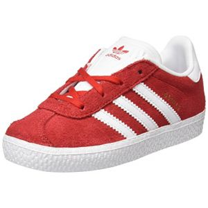 Adidas Originals Gazelle I, Baskets Garçon, Rouge (Scarlet), 20 EU