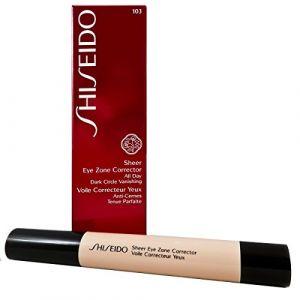 Shiseido 103 Natural - Voile correcteur yeux anti-cernes tenue parfaite