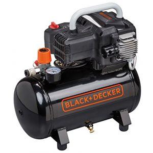Black & Decker Mini-Compresseur électrique portatif BD195 12 NK moteur 1.5 HP - 10 bars