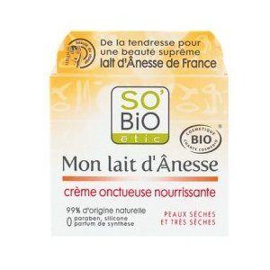 So'Bio Étic Mon lait d'Ânesse - Crème onctueuse nourrissante
