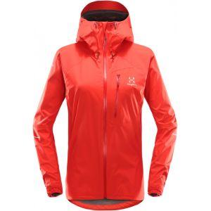 Haglöfs L.I.M - Veste Femme - rouge XS Vestes de pluie