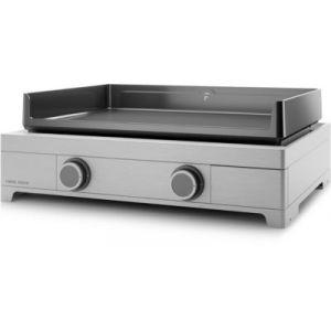 Forgeadour Modern 60 Inox - Plancha gaz 2 brûleurs