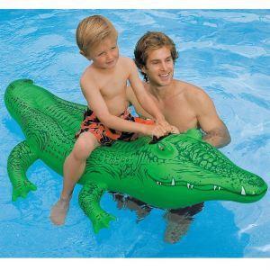 Intex Crocodile gonflable à chevaucher (193 cm)