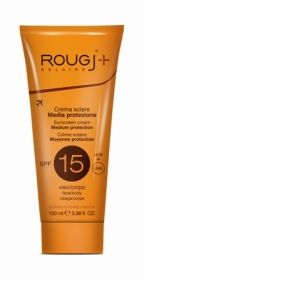 Rougj Crème solaire moyenne protection SPF15