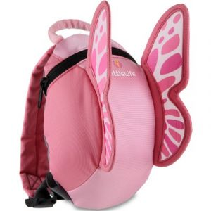 LittleLife Toddler Butterfly Backpack - Pink