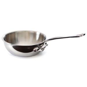 Image de Mauviel1830 5212.20 - Sauteuse évasée bombée M'cook 20 cm