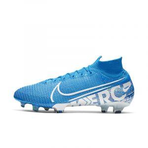 Nike Chaussure de footballà crampons pour terrain sec Mercurial Superfly 7 Elite FG - Bleu - Taille 44.5 - Unisex