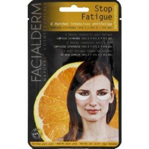 Facialderm Patchs intensifs en technologie hydrogel anti-fatigue