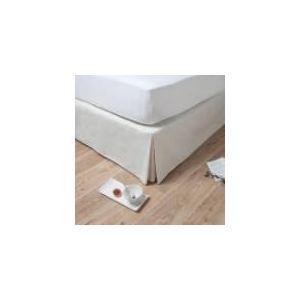Comptoir des toiles Hide - Cache sommier 55% coton et 45% lin (180 x 200 cm)