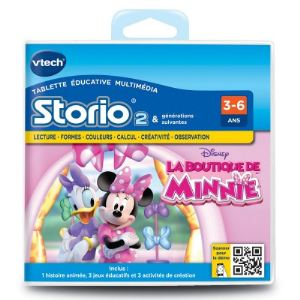 Vtech Jeu tablette Storio 2 : La Boutique de Minnie