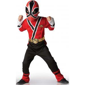 Rubie's Déguisement Power Rangers 3D Samourai rouge (3 à 8 ans)