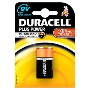 Duracell Pile alcaline 9V 6LR61 Plus Power