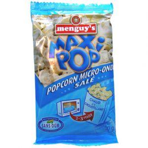 Menguy's Pop-corn micro-ondes salé - Le paquet de 100g