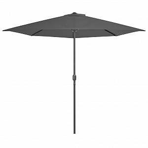 VidaXL Parasol d'extérieur avec mât en aluminium 300x150 cm Anthracite