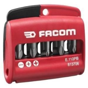 Facom E110PG - Etui 10 embouts avec porte-embouts