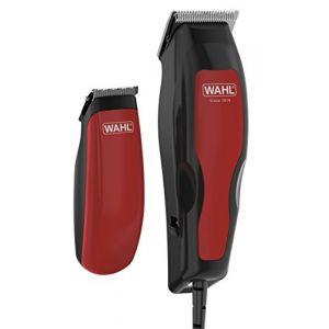 Wahl 1395-0466 Combi Pack - Tondeuse à cheveux + tondeuse détail Home Pro 100