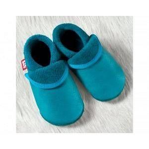 Pololo Klassik waikiki, chaussons mixte enfant - Bleu - Blau (waikiki 447), 26/27 EU