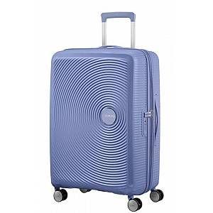 American Tourister Soundbox 4 Wheel Trolley 67 cm denim blue