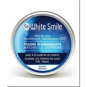 So White Smile Poudre dentaire blanchissante naturelle